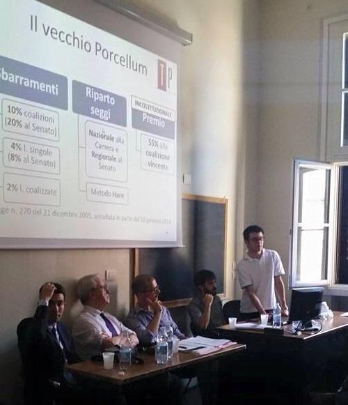 immagine del convegno sulla legge elettorale Italicum promosso con la collaborazione di termometro politico