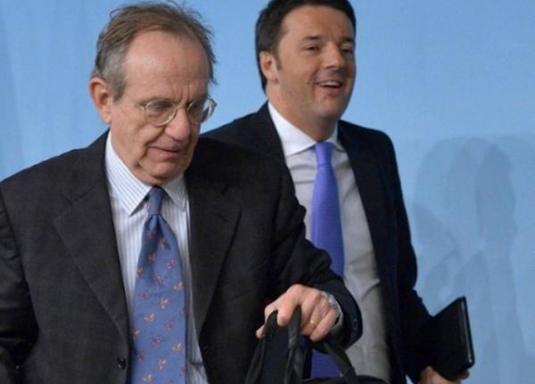 crescita economica cernobbio padoan un passo avanti al premier renzi