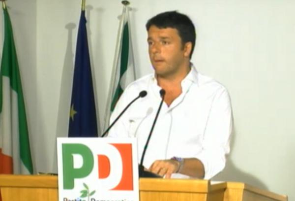 Matteo Renzi in direzione Pd