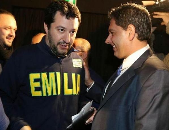 Toti e Salvini