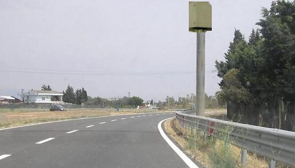 impianto autovelox a bordo strada