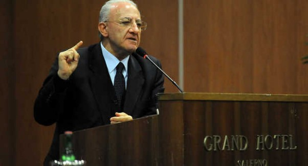 Vincenzo De Luca, ex sindaco di Salerno