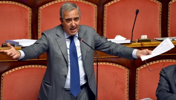 riforme Il senatore di Forza Italia Maurizio Gasparri