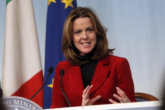 Il ministro della Salute Beatrice Lorenzin