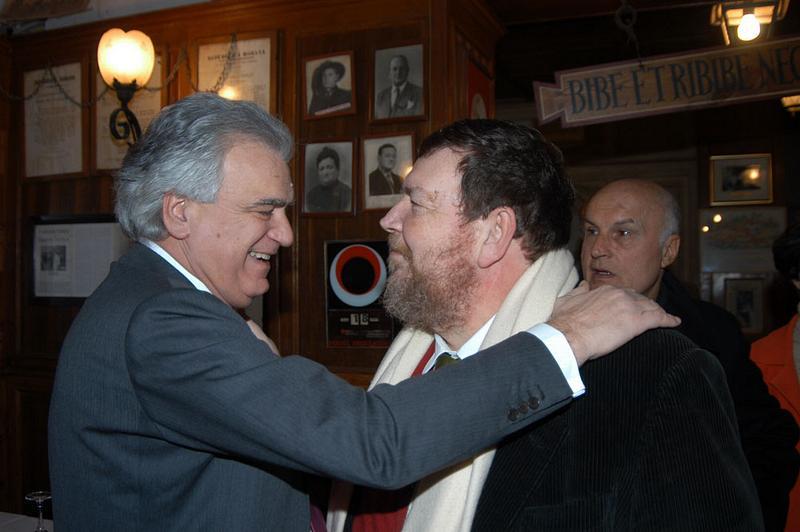 Denis Verdini e Giuliano Ferrara
