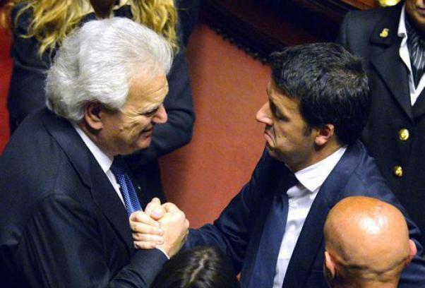 Denis Verdini e Matteo Renzi