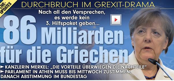 bild delusa da accordo eurogruppo grecia titola 86 miliardi ai greci
