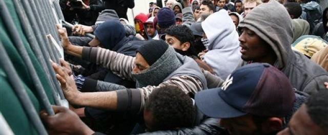 caos migranti calais