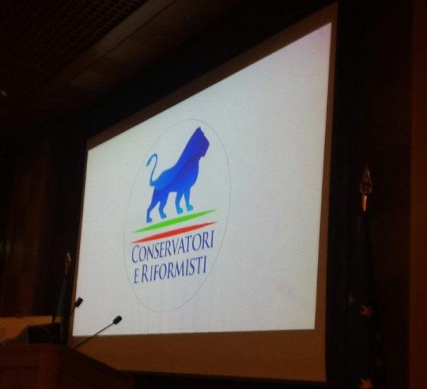immagine della presentazione del simbolo del movimento di fitto conservatori e riformisti