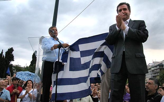 crisi grecia Kaminis