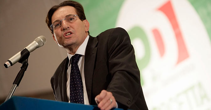 Il presidente della Sicilia Rosario Crocetta