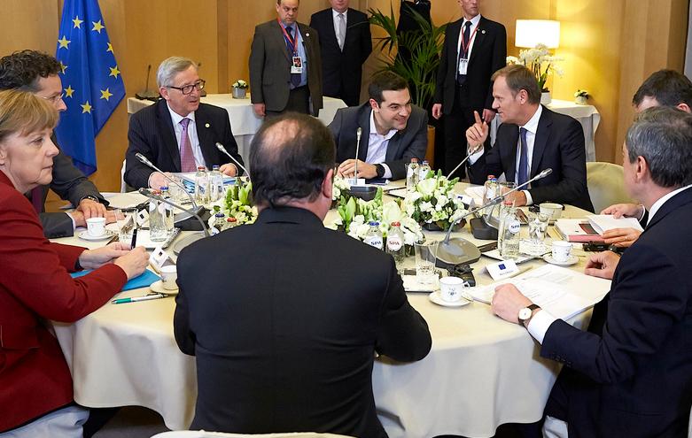 immagine incontro eurogruppo con leader europei