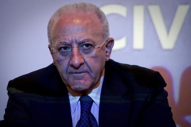 Vincenzo De Luca, neoeletto governatore della Campania
