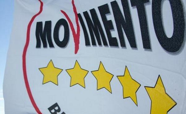 bandiera del movimento 5 stelle