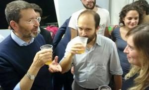 Roma: il patto della birra tra Marino, Orfini e Boschi