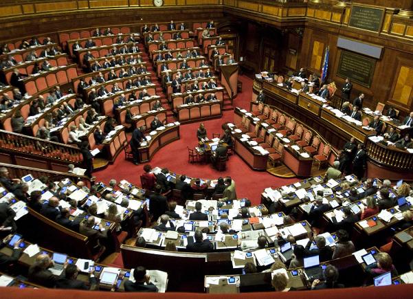 immagine dell'aula del senato