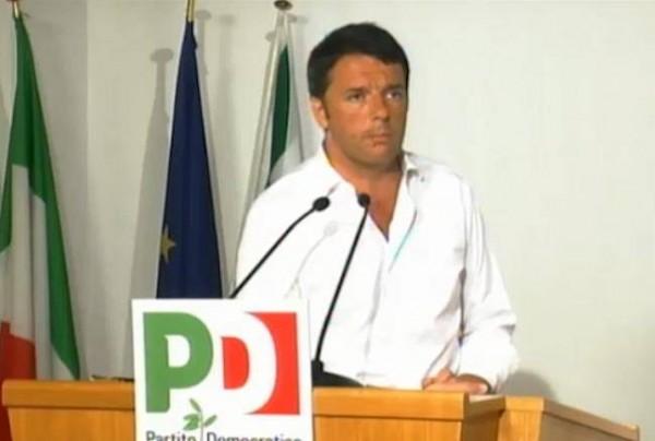 Matteo Renzi alla Direzione Pd