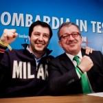 Allah Akhbar Matteo Salvini e Roberto Maroni
