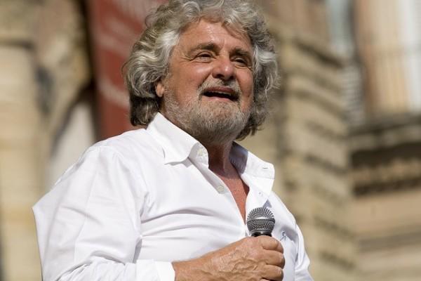 Il cofondatore del M5S Beppe Grillo