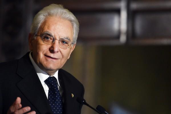 sondaggi elettorali il presidente della Repubblica Sergio Mattarella