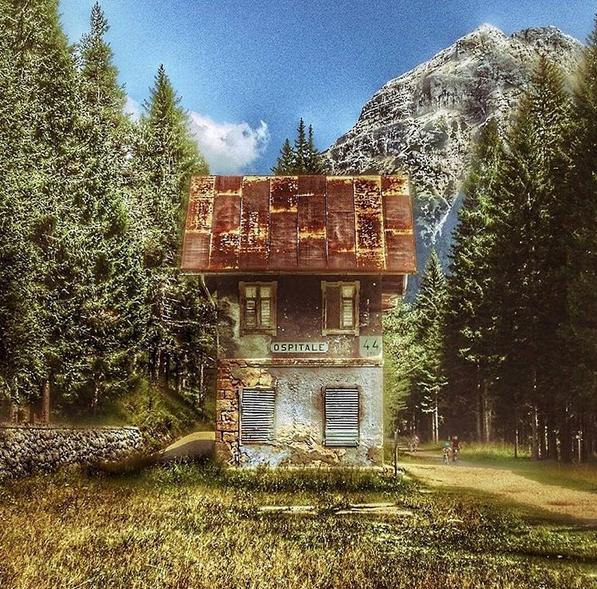 12 foto di luoghi abbandonati in italia termometro politico for Case abbandonate italia