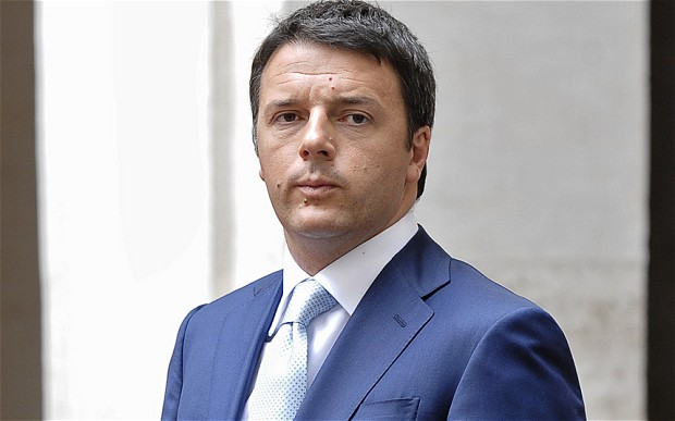 renzi in primo piano