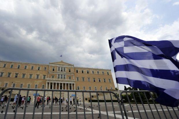 immagine del parlamento greco