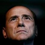 silvio berlusconi al Blocca Italia della Lega Nord