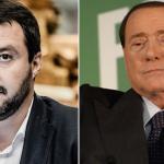 sondaggi elettorali, sondaggi politici elettorali a sinistra matteo salvini e affianco berlusconi entrambi saranno al blocca italia