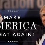 donald trump, campagna elettorale, foto di Trump