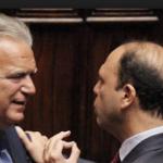 federazione dei moderati verdini mentre discute con alfano