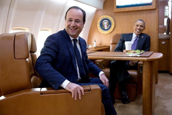 François Hollande Barack Obama attentato parigi