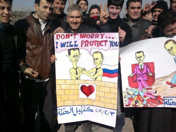Vladimir Putin Bashar Assad attentato Parigi