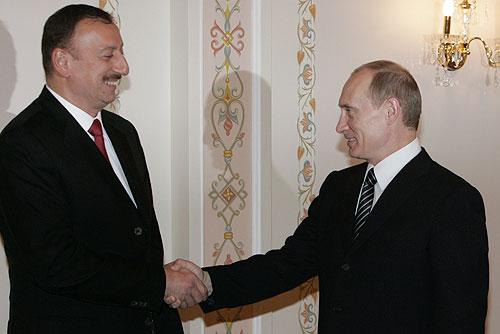 Vladimir Putin ed Ilham Aliyev elezioni Azerbaigian