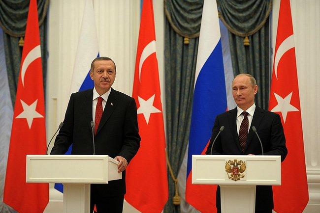 Rapporti Russia Turchia Vladimir Putin e Recep Tayyip Erdogan