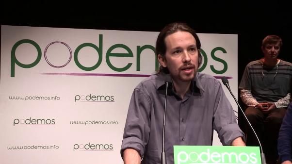 Sondaggi Spagna Pablo Iglesias leader di Podemos
