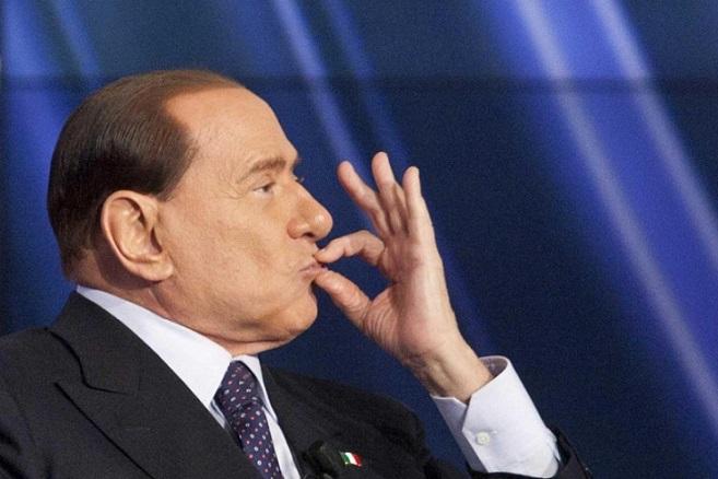 berlusconi aderisce a blocca italia della lega nord