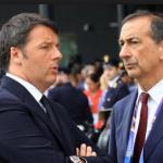 elezioni comunali milano, pisapia, milano, giuseppe sala, il premier renzi a colloquio con il commissario di expo giuseppe sala