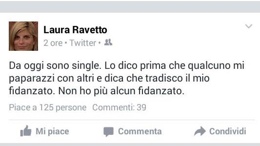 laura ravetto, single, dario ginefra, la deputata di forza italia annuncia sui social da oggi sono single