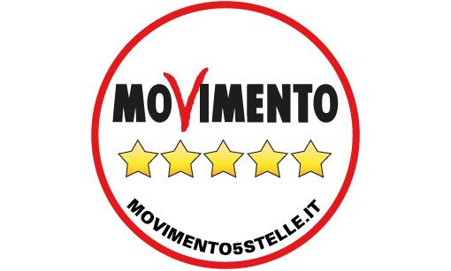 m5s, casaleggio, di maio, il simbolo aggiornato del movimento 5 stelle