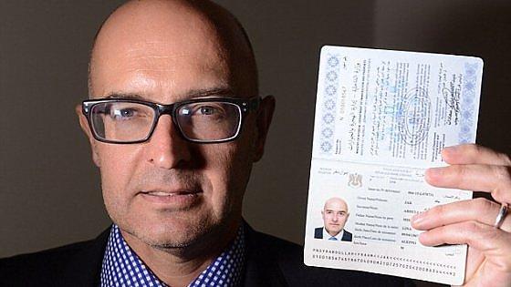 passaporto siriano, isis