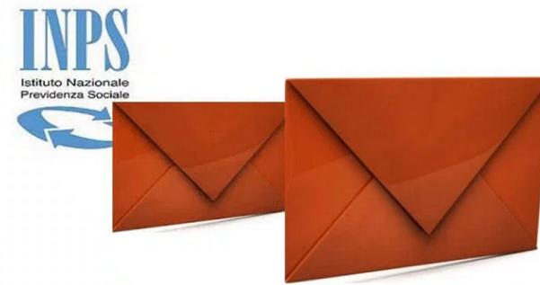 pensioni, boeri, inps, in alto a sinistra il simbolo dell'inps e al centro dell'immagine le buste arancioni