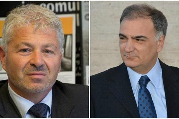 i due candidati alle primarie di Latina, Galante e Forte