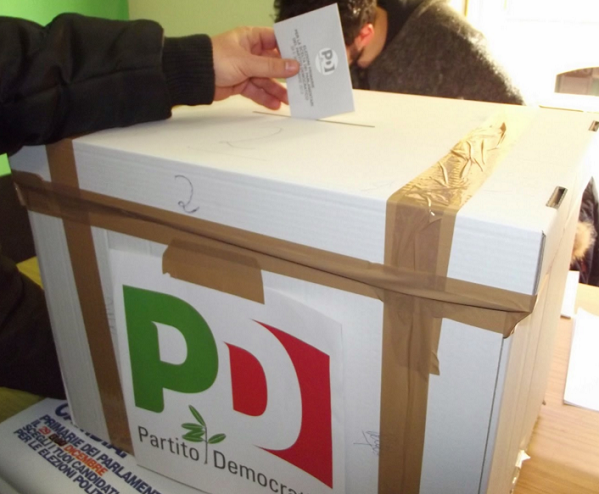 primarie, pd, 20 marzo, immagine urna elettorale primarie pd