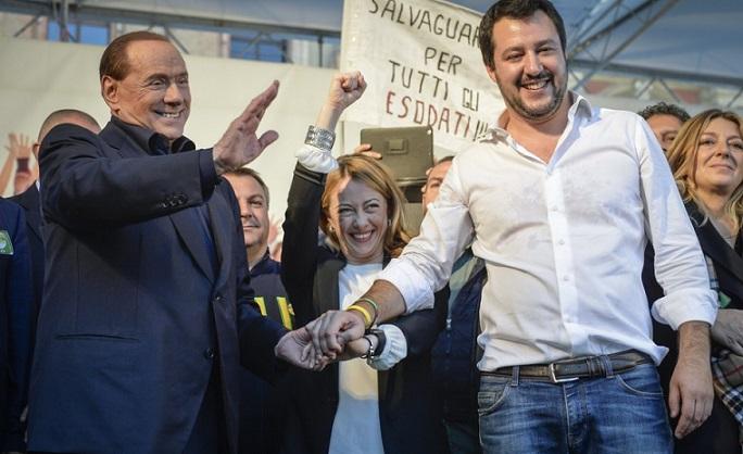 sondaggi elettorali, elezioni centrodestra, salvini, berlusconi