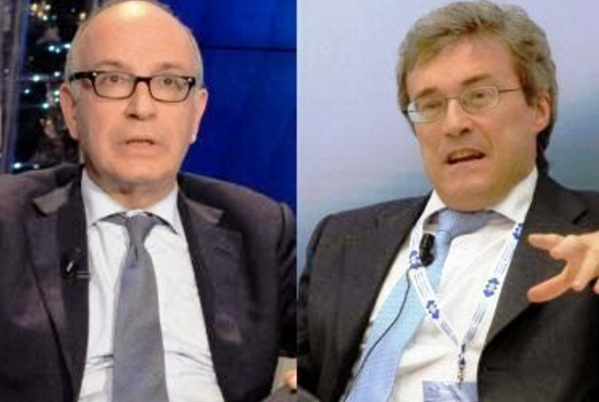 spending review, gutgeld, perotti, a sinistra l'economista vicino a renzi e destra il dimissionario perotti
