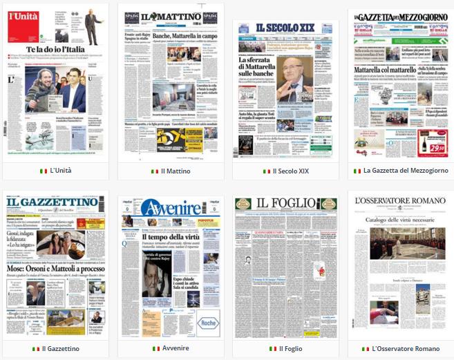 Rassegna stampa, politica, martedì 22 dicembre 2015, parte 2