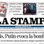 rassegna stampa, politica, 10 dicembre 2015, la stampa
