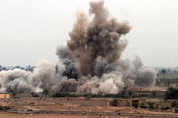 guerra isis bombardamenti siria