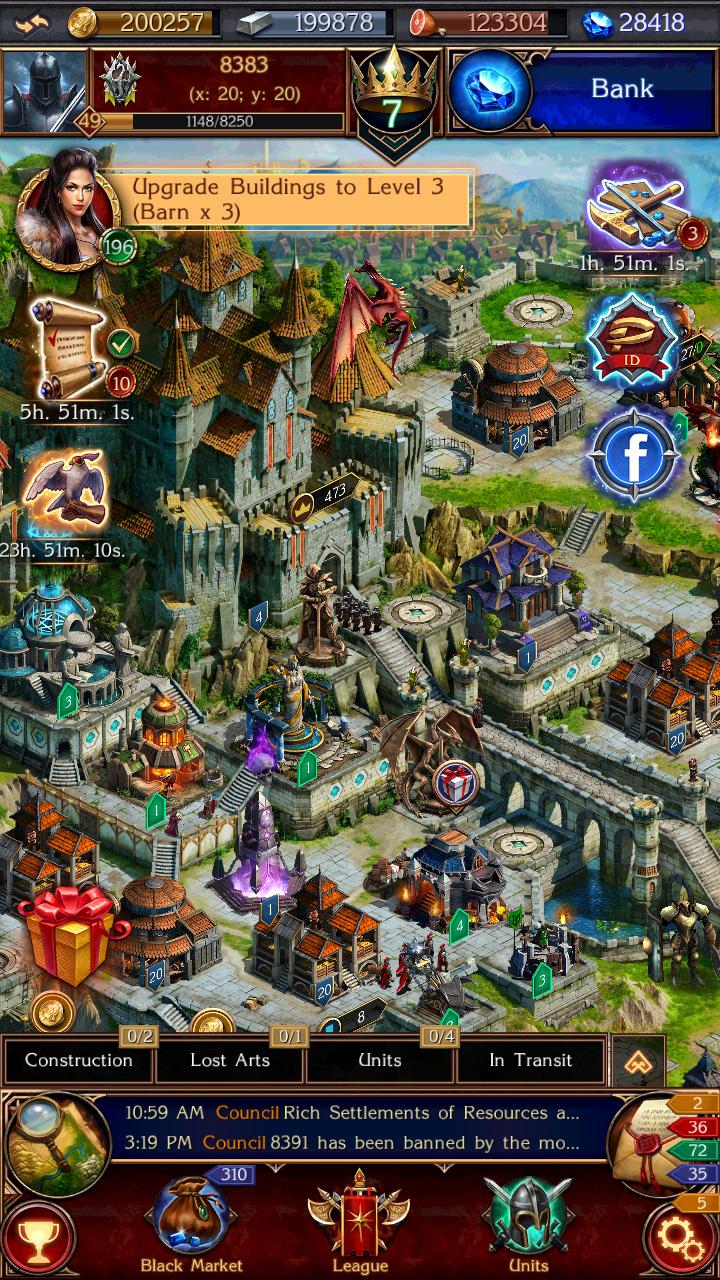 videogames online, schermo del gioco Balur